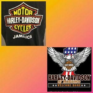 Harley Davidson Cut Shirt